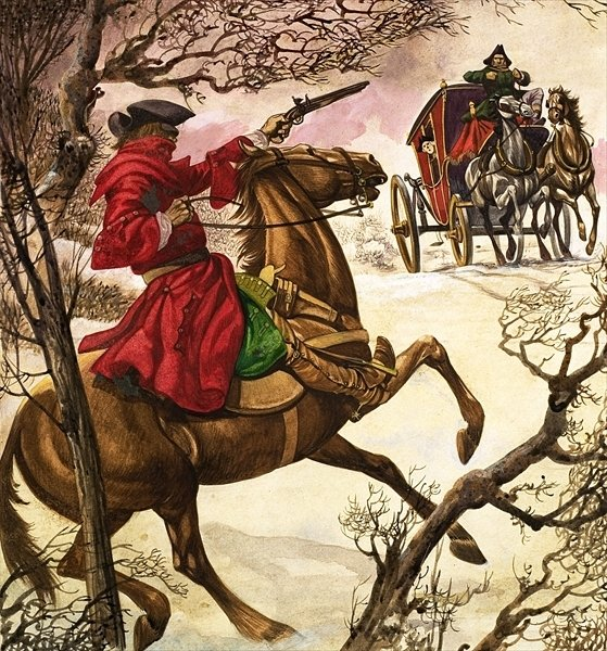I Was A Highwayman…